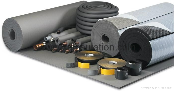 Elastomeric Rubber Foam Insulation Board Sheet Xdfoam