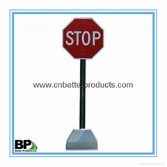 china u channel sign post for traffic safety sign