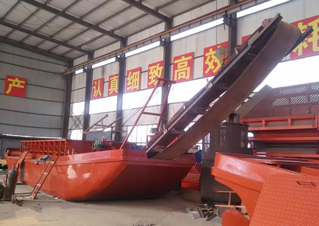 Large Capacity Sand Transportation Barge  1
