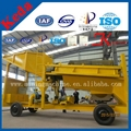 Mobile Alluvial Gold Mining Machine for