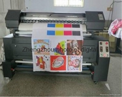 Double print heads sublimation printer machine price