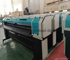 China Eco solvent Large format printer machine price