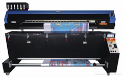 Double print heads sublimation printer machine price