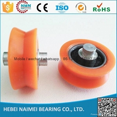 china factory 608ZZ v groove delrin window roller