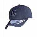 Custom Hat Embroidery Design Cotton