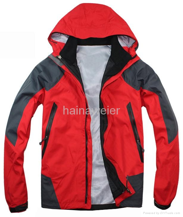Outdoor jacket A008,winter waterproof snow ski warm outdoor jacket 1