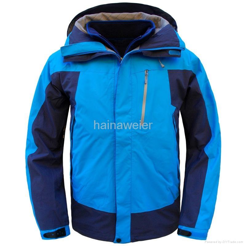 定购海纳维尔野外工作服,户外工作服,防水透气防寒冲锋衣