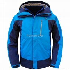 定購海納維爾野外工作服,戶外工作服,防水透氣防寒衝鋒衣