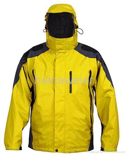 厂家定购户外工作服,野外工作服,防水透气冲锋衣