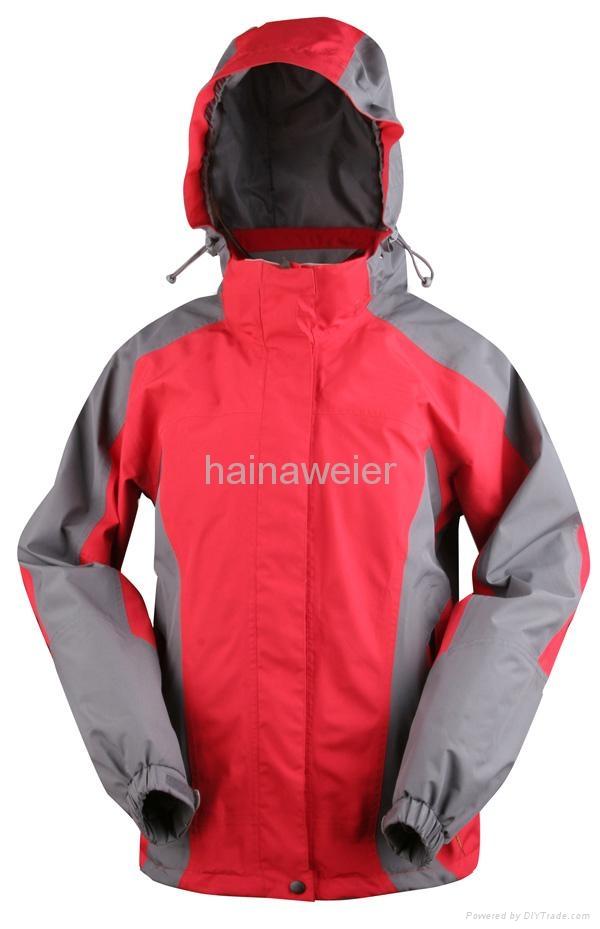 工厂定购户外运动服,野外工作服 防水透气 冲锋衣 1