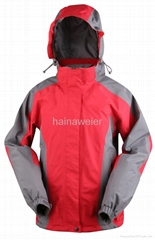 Customized Wholesale Windproof Outdoor Fleece Softshell Double Jacketed Jacket
