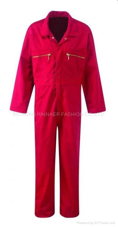 定製海納維爾長袖雙層連件服 HNE W1304 1