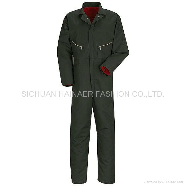 T/C workwear  Coverall for Oil Industry,worker clothes,worker uniform 4