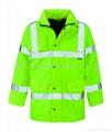 High vis storm coat HNE W1306 ,worker wear,worker uniform,worker clothes 3