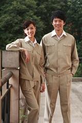 定製海納維爾純棉工作服套裝