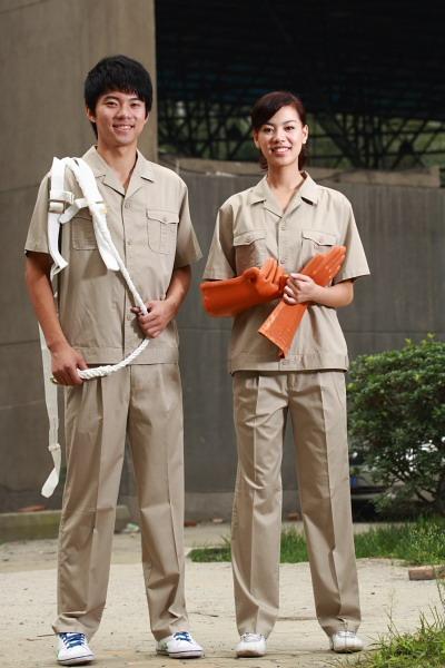 Custom working logo design uniform workwear,worker clothes,worker uniform 1