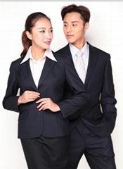 成都工厂定制男女式高档职业装,西服