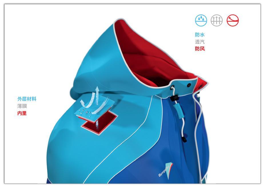 工廠定購戶外運動服,野外工作服 防水透氣 衝鋒衣 5