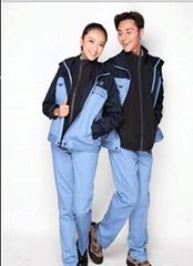 成都定制 海纳维尔 工作服棉袄 棉衣 防寒服 保暖服