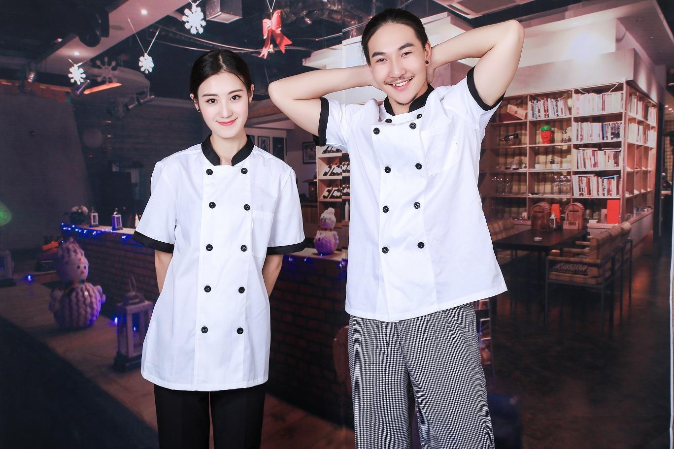 成都私人定制厨师服 1