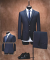 100% wool custom two buttons classic mens tailored suits,OEM welcome 1