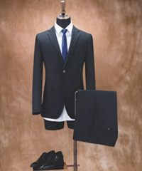 OEM high grade formal office men black business suit for spots goods