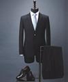 Bespoke men's Virgin Wool Suit, Slim Fit