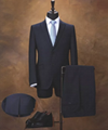Custom Tailoring Virgin Wool men's Suit,