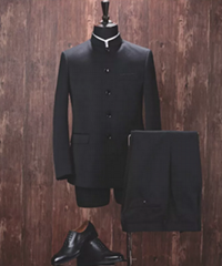 Custom  men's Wool Suit, Regular Fit