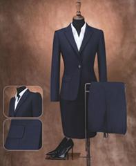 定制女式海纳维尔高档职业装,女式西服
