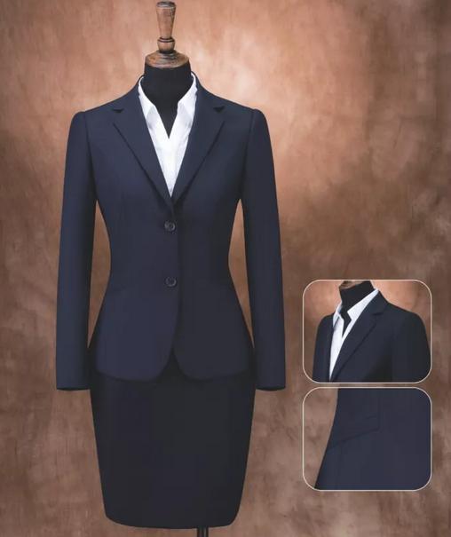 定制海纳维尔女式职业装,西服 1