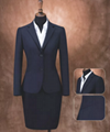 Eco-friendly Polyester and Wool Fabric Commercial Casual Suit for Women