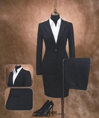定制海纳维尔女式商档商务装,职业装,西服