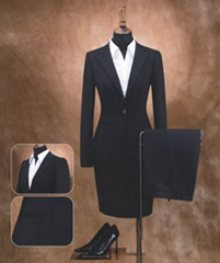 OEM Factory Fashion Women Wool Uniform Suit
