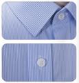 Custom Made High Quality 100% Cotton Women Ladies short Sleeve shirt