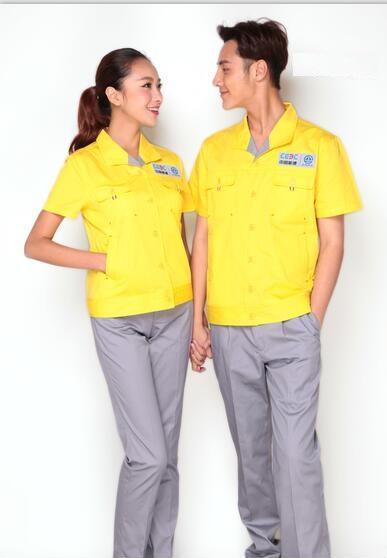 Work Uniform Working Clothing Set Workwear Suits Jackets&Pants  1