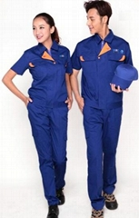 OEM Service Short sleeve durable  workwear uniform