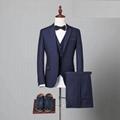 New design modern slim fit custom blazer price top brand men suit