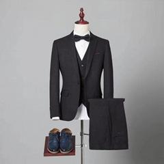 定制高品质海纳维尔男式西服套装 职业装