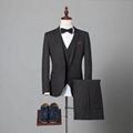 wholesale bespoke tailored 3 piece slim