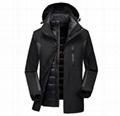 men's 3 in 1 jacket coat high quality