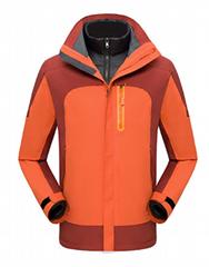Winter Sports Wear Warm outdoor Jacket Waterproof Camping Hiking Wear