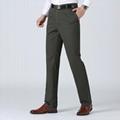 Wholesale Customerized Men's Pants 100% Cotton Casual Plus Size Men's Trousers