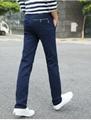 Men's Spandex Cotton Summer Casual Pants