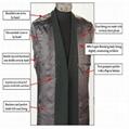 Classic Tweed Herringbone Wool Blend Men Suit 3 Pieces Blazer