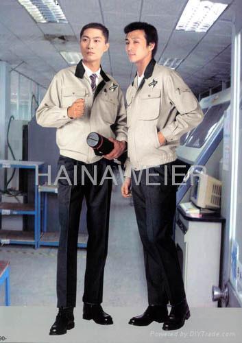 四川工廠定製海納維爾工作服HNW008 1