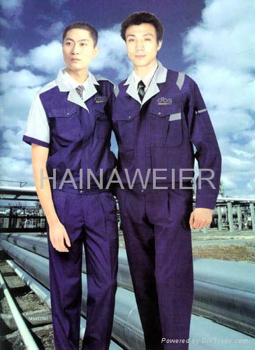 工廠直銷定製海納維爾工作服HNW009 1