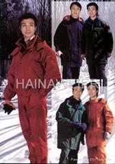 成都工厂直销定制海纳维尔工作服(防寒服)HNW011