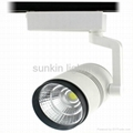 2016 new products 12W cob led track light,white color track lighting Manufacture 4