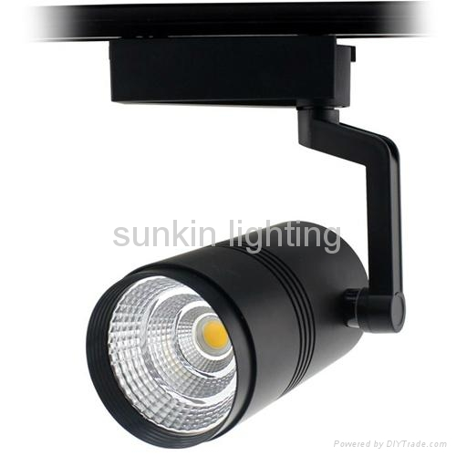 2016 new products 12W cob led track light,white color track lighting Manufacture 5